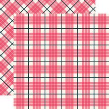 Load image into Gallery viewer, NEWPORT Tartan patterned 12x12 cardstock