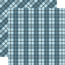 Load image into Gallery viewer, ABERDEEN Tartan patterned 12x12 cardstock