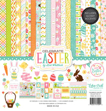 Load image into Gallery viewer, CELEBRATE EASTER 12x12 Collection Kit with Sticker Element from Echo Park Paper Co.