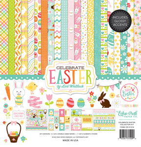 CELEBRATE EASTER 12x12 Collection Kit with Sticker Element from Echo Park Paper Co.