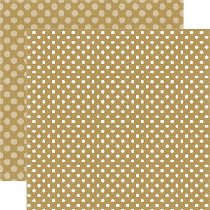 SUGAR COOKIE DOT 12x12 Dot Pattern Cardstock from Echo Park Paper Co.