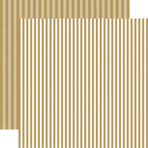 SUGAR COOKIES STRIPE 12x12 Stripe Patter Cardstock from Echo Park Paper Co.