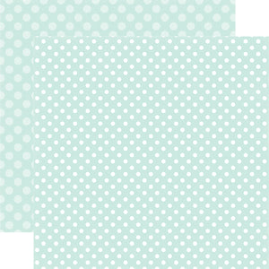 SMOOTH ICE DOT 12x12 Pattern Cardstock from Echo Park Paper Co.