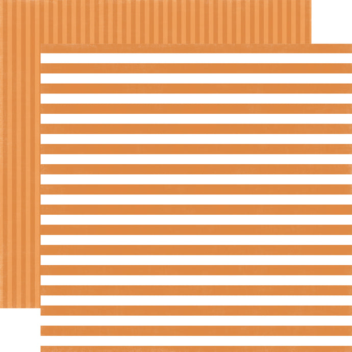 SUNSHINE STRIPE 12x12 cardstock from Dots & Stripes Collection by Echo Park Paper Co.