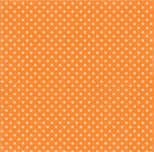 Load image into Gallery viewer, Reverse side of Tangerine Tango Dot 12x12 double-sided Dots and Stripes cardstock from Echo Park Paper Co.
