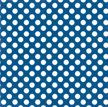 Load image into Gallery viewer, BLUE LAGOON DOT 12x12 Cardstock from Dots & Stripes Collection by Echo Park Paper Co.