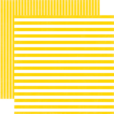 SUBMARINE STRIPE 12x12 patterned, double-sided cardstock from Echo Park Paper Co.
