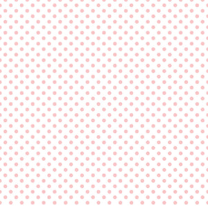 12x12 Vellum Paper titled BLUSH BUNNY with pink dots on transparent background by Echo Park Paper Co.