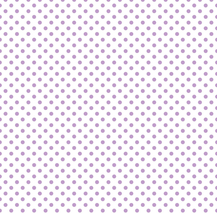 12x12 Translucent Vellum Paper with Purple Dots by Echo Park Paper Co.