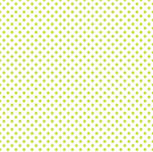 GREEN GRASS dots on 12x12 transparent vellum paper by Echo Park Paper Co.