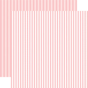 Strawberry Stripe 12x12 Cardstock from Echo Park Paper Co.