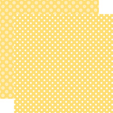 Load image into Gallery viewer, Banana Cream Dot 12x12 Cardstock from Echo Park Paper Co.