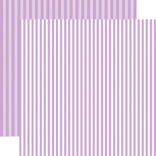 Load image into Gallery viewer, Huckleberry Stripe 12x12 Cardstock from Echo Park Paper Co.