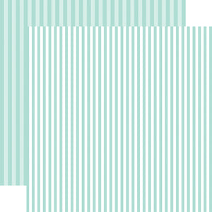 Blueberry Stripe 12x12 Cardstock from Echo Park Paper Co.