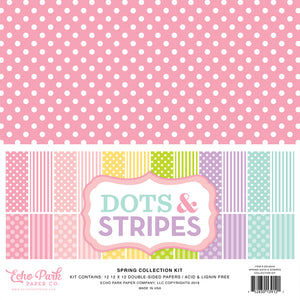 SPRING COLLECTION from Dots & Stripes by Echo Park Paper Co.
