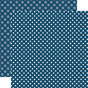 DEEP BLUE SEA 12x12 patterned cardstock from Echo Park Paper Co.