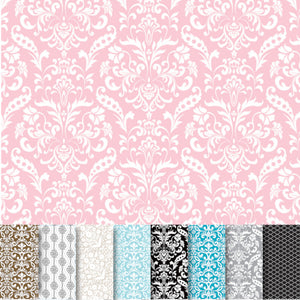 DAMASK Assorted Pack with 9 unique, double-sided 12x12 cardstock sheets from American Crafts