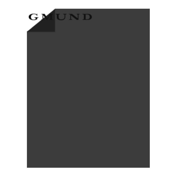EBONY black translucent vellum sheets by Gmund - 8½ x 11 - 30 lb