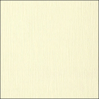 Bazzill FRENCH VANILLA cardstock - 12x12 inch - 80 lb - textured scrapbook paper