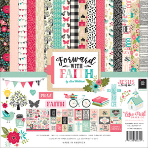 Forward with Faith 12x12 collection kit from Echo Park Paper