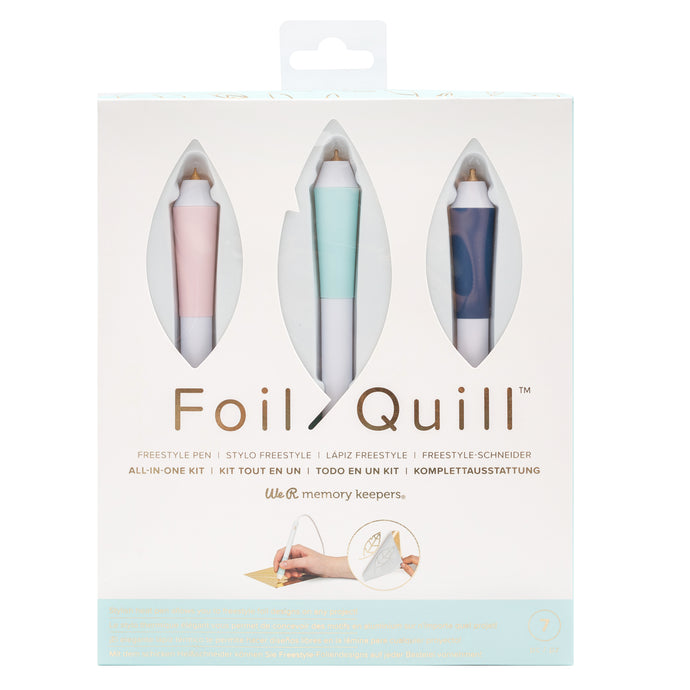Foil Quill Freestyle Pens for adding foil to any craft project by hand!