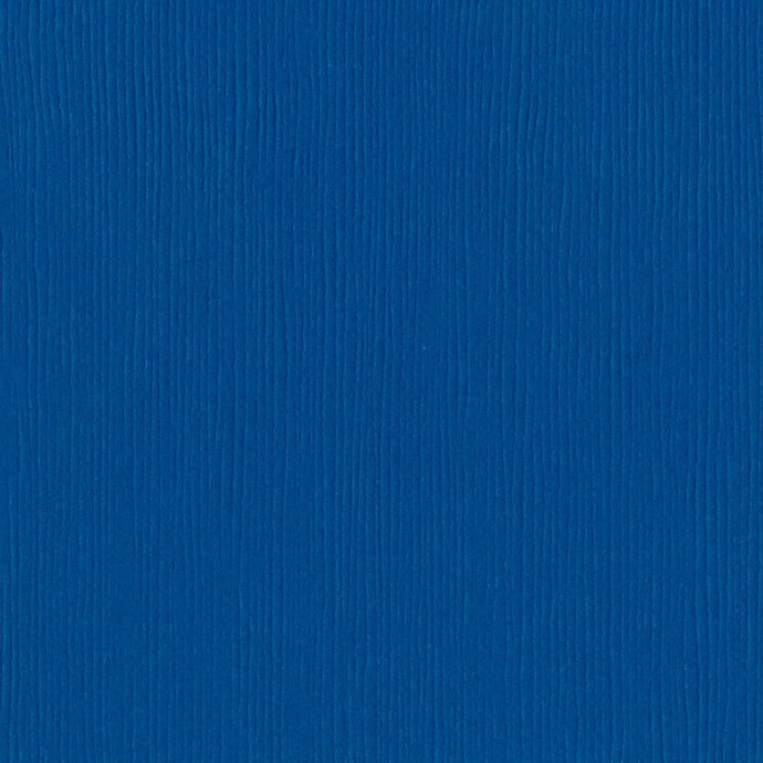 Bazzill GREAT LAKES dark blue cardstock - 12x12 inch - 80 lb - textured scrapbook paper