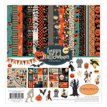 Load image into Gallery viewer, Happy Halloween Page Collection Kit by Carta Bella contains 12 double-sided sheets of cardstock