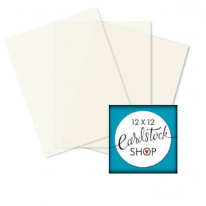 IVORY translucent vellum sheets - 8½ x 11 - Glama Natural