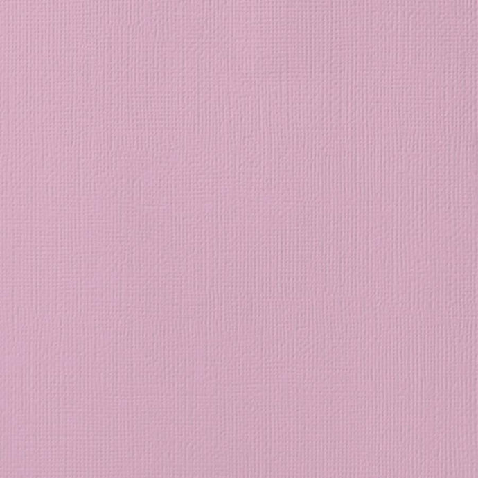 LILAC purple cardstock - 12x12 inch - 80 lb - textured scrapbook paper - American Crafts