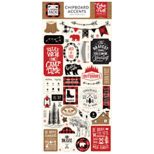 Load image into Gallery viewer, Chipboard Accents designed by Lori Whitlock for Little Lumberjack Collection
