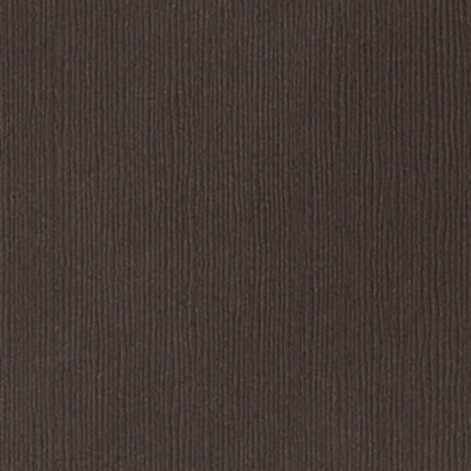 Bazzill London Fog dark brown cardstock - 12x12 inch - 80 lb - textured scrapbook paper