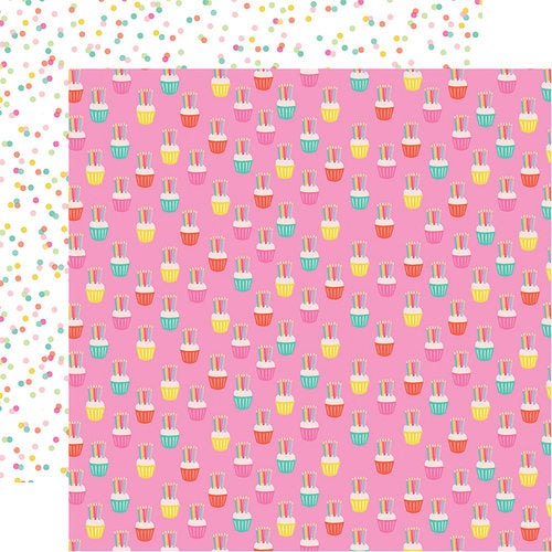 CUPCAKE CELEBRATION - 12x12 double-sided cardstock - Echo Park Paper Co.