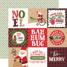 Load image into Gallery viewer, 4x4 Journaling Cards 12x12 double-sided cardstock from My Favorite Christmas Collection by Echo Park Paper Co.