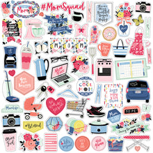 Load image into Gallery viewer, 12x12 Element Sticker Sheet for I AM MOM Collection Kit by Echo Park Paper Co.