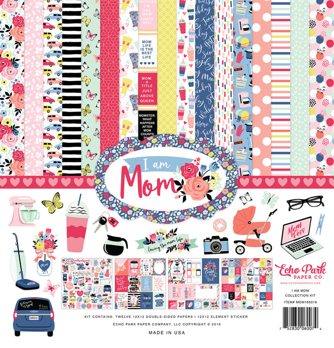 I AM MOM 12x12 Collection Kit by Echo Park Paper Co.
