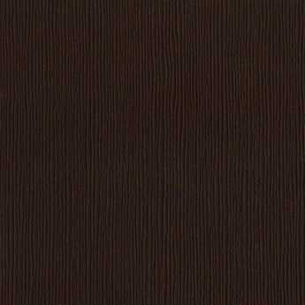 Bazzill Basics MUD PIE dark brown cardstock - 12x12 inch - 80 lb - textured scrapbook paper