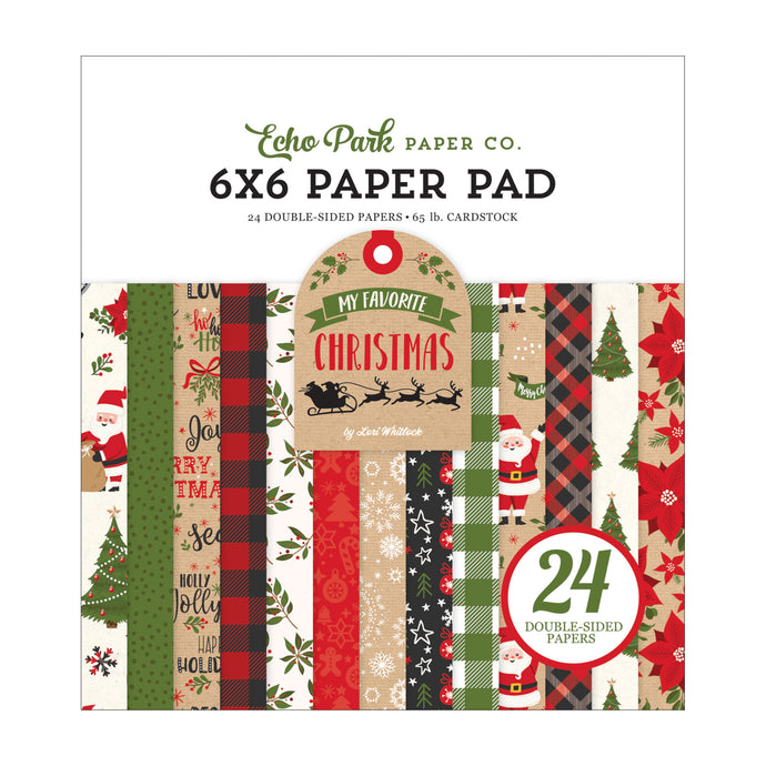 6x6 Paper Pad from My Favorite Christmas Collection by Echo Park Paper