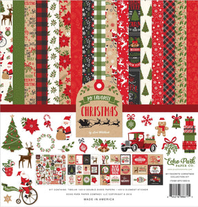 My Favorite Christmas Page Kit Collection by Echo Park Paper Co.