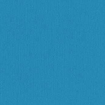 Bazzill PAULY POO blue cardstock - 12x12 inch - 80 lb - textured scrapbook paper
