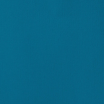 PEACOCK dark teal cardstock - 12x12 inch - 80 lb - textured scrapbook paper - American Crafts
