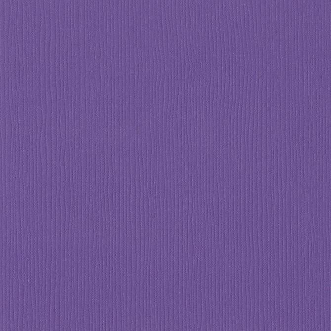 Bazzill Basics PIXIE DUST purple cardstock - 12x12 inch - 80 lb - textured scrapbook paper