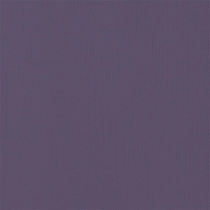 PLUM purple cardstock - 12x12 inch - 80 lb - textured scrapbook paper - American Crafts