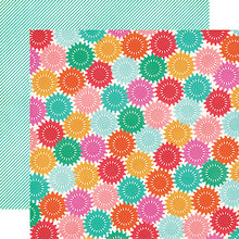 "Load image into Gallery viewer, ""Celebrate"" 12x12 double-sided designer cardstock is part of PARTY TIME collection kit by Echo Park Paper Co."