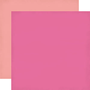 """Pink & Light Pink"" 12x12 double-sided designer cardstock is part of PARTY TIME collection kit by Echo Park Paper Co."