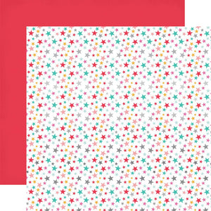 STAR FOIL 12x12 cardstock by Echo Paper Co.