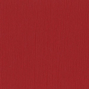 Bazzill Basics RED DEVIL red cardstock - 12x12 inch - 80 lb - textured scrapbook paper