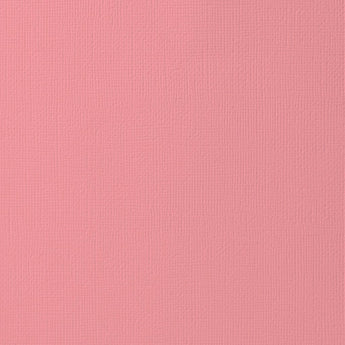 SALMON colored cardstock - 12x12 inch - 80 lb - textured scrapbook paper - American Crafts