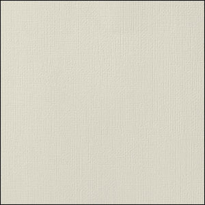 SMOKE very light gray cardstock - 12x12 inch - 80 lb - textured scrapbook paper - American Crafts