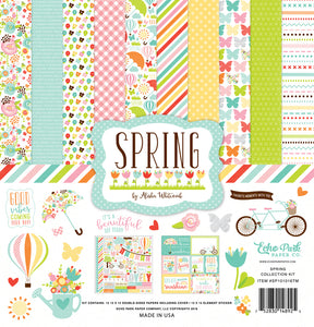 SPRING 12x12 Page Collection Kit by Echo Park Paper Co.