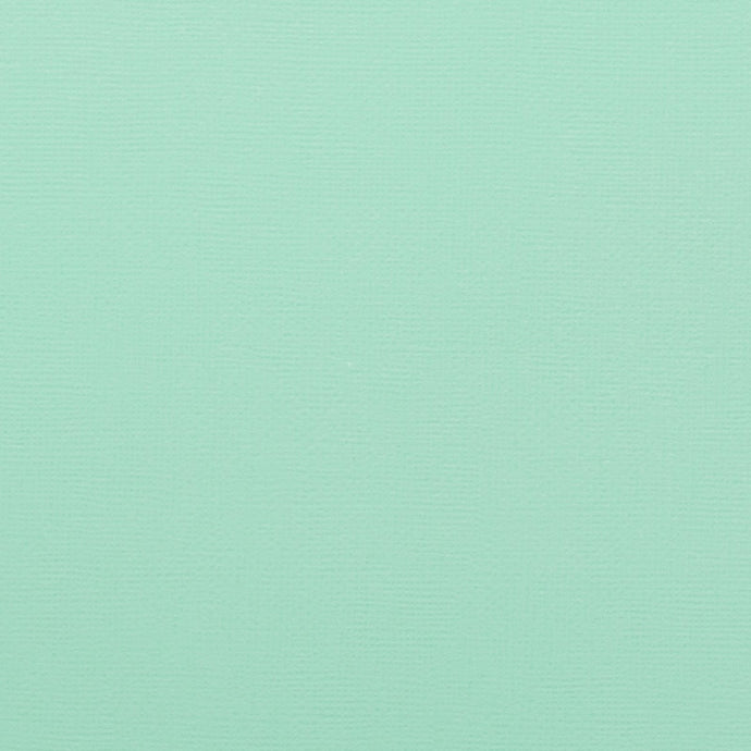 SPEARMINT mint green cardstock - 12x12 inch - 80 lb - textured scrapbook paper - American Crafts